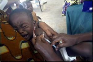 Mass Vaccination in Ethiopia