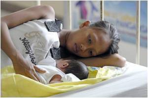 C-section Births Up Risk of Post-natal Depression
