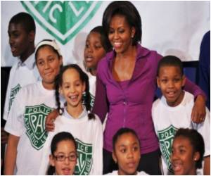 US First Lady: Childhood Obesity Fight Begins at Home