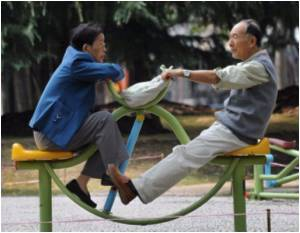 Physical Activity in Midlife Increases the Risk of Mobility Limitation in Old Age