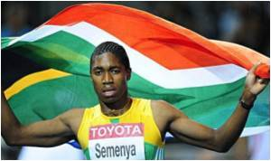 S.African Gender Row Athlete Semenya Set to Compete Against Women