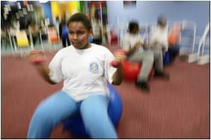 Study Says Exercise Shields Kids from Stress