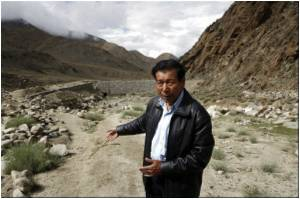 Melting of Glacier Raises Fears of Water Woes in Ladakh