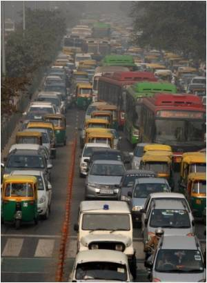 Rapid Rise in Air Pollution 'Worsens' India's Winter Smog