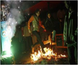 Fire Festival - Warning to Young Iranians