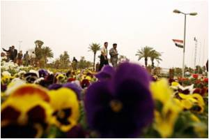Blooming Iraq Holds International Flower Festival
