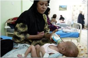 Iraqi Mothers' Advised to Breastfeed Their Babies Instead of Infant Formula