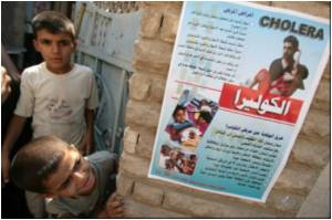 WHO Warns Iraq's Neighbours as Cholera Spreads