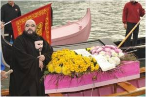 Symbolic Funeral Procession held to Underline Venice's Reducing Population