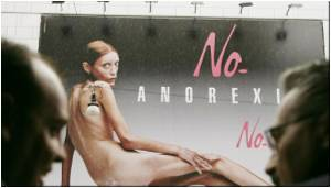Italy Advertising Watchdog Bans Anorexia Image