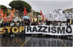 Thousands Protest Against Racism in Italy