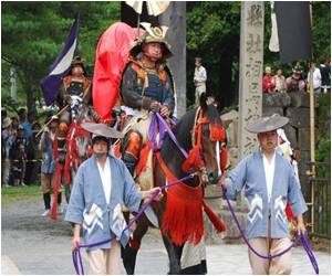 Samurai Festival Lifts Hopes in Japan's Quake Region