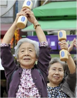 Looming Japanese Demographic Crisis With One in Four Women Being Elderly