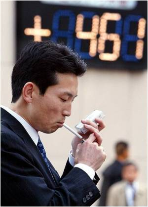 Japanese Smokers Stocking Up On Ciggies Before Massive Price Hike on Friday