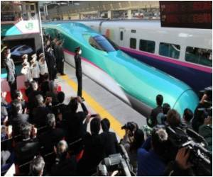 New Bullet Train Launched in Japan
