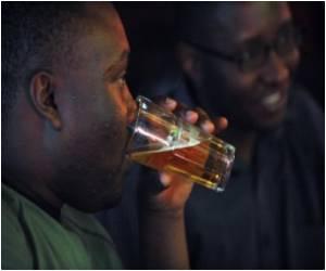Alcoholic Brains Work Harder