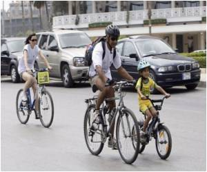 Ride Bicymple To Tackle Urban Traffic