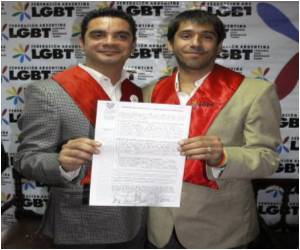 One More Gay Marriage in Argentina