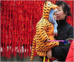Sydney to Pyongyang, Year of the Tiger Greeted With Fireworks, Prayers