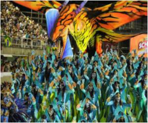 In Rio's Carnival Parades, Hollywood Steals the Show