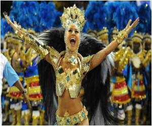 Carnival Crown to Samba Champions Honoring Formula One Racer Ayrton Senna