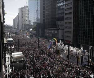 Three Million Take Part in 'World's Biggest' Gay Parade