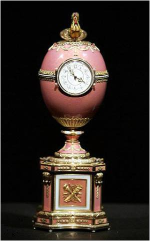 Rare Faberge Egg to Be Sold in London