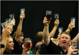 British on a High at Beer Festival