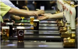 Drinkers Drown Out Downturn at Beer Festival