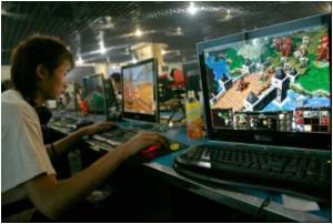 In China, Online Gamers Raking in the Cash