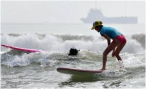 Surf's Up, Chinese Style