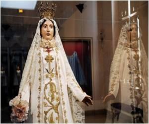 The Virgin Mary Debuting as Fashion Icon