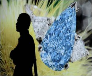 13.22 Carat 'The Blue' Diamond Set to Fetch 21 Million Dollars at Auction
