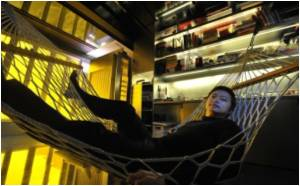 Hong Kong Architect Squeezes 24 Rooms Into One Tiny Flat