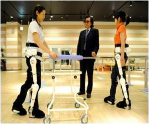 Robotic Suit Helps Disabled People to Walk Again