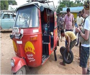 Ride on the Wild Side With the Indian Rickshaw Rally