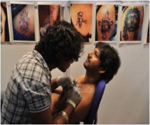 Tattoo Rage Catches on in India With Divine Symbols Taking Prominence