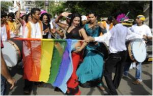 In New Delhi Gays Take Out a Pride Parade