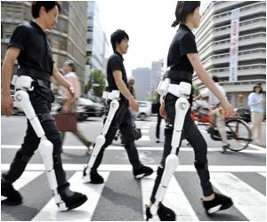 Robo-Suit Adventure Starts for Disabled Japanese Man