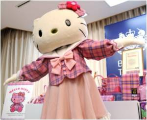 Japan's Global Icon of Cute Hello Kitty Celebrates 40th Birthday