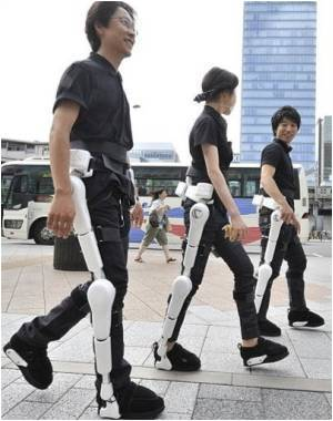 Japan Develops 'Robot Suit' to Help Disabled