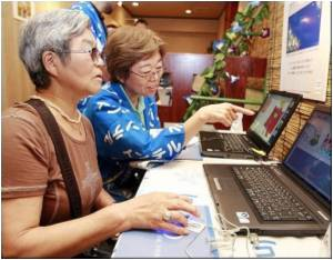 In Greying Japan, Even Grannies Go High-tech