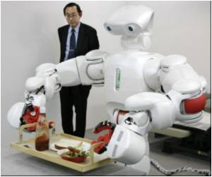 Robotic Help for the Elderly in Japan