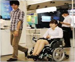 Children Taught to Use Wheelchair by Robot