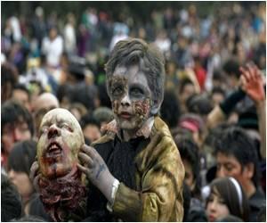 'Zombie Walk� Gathers Spirits in Mexico City