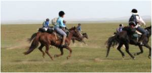 World�s Longest Horse Race In Mongolia
