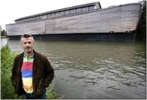 Dutchman Rebuilds Noah's Ark to Spread His Faith