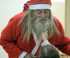 In Poland, Real Life Santa In Poland