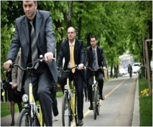 Cycling and Chic Combined by Bucharest Businessmen