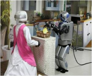 Walking Robot Maid Developed by S.Korean Scientists